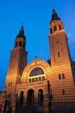 Sibiu at night Royalty Free Stock Photos