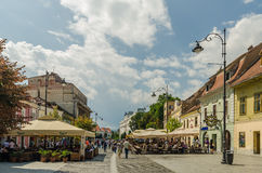 Sibiu Old Center Stock Photography