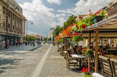 Sibiu Old Center Royalty Free Stock Images