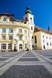 Sibiu - Piata Mare Royalty Free Stock Images