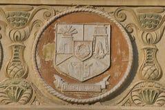 Sibiu provincie, wapenschild Stock Fotografie