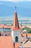 Sibiu The Reformed Church Stock Photo