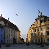 Sibiu, Roemenië Stock Afbeelding