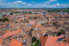 Sibiu in Roemenië Royalty-vrije Stock Foto
