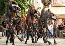 Paarden van Menorca Royalty-vrije Stock Afbeeldingen