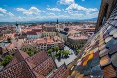Sibiu in Roemenië Royalty-vrije Stock Foto's