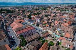 Sibiu in Roemenië Stock Afbeeldingen