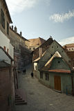 Sibiu (Roemenië) Straat Royalty-vrije Stock Fotografie