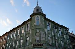 Sibiu Romênia: Casa do século XIX Foto de Stock Royalty Free