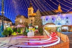 Sibiu, Romania Fotografie Stock Libere da Diritti