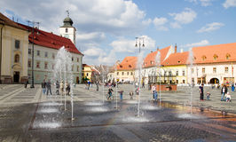Sibiu, Romania Royalty Free Stock Images