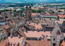 Sibiu in Romania Immagine Stock Libera da Diritti