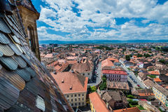 Sibiu in Romania Immagine Stock
