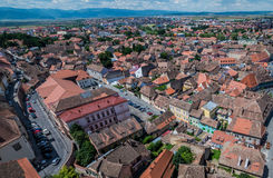 Sibiu in Romania Stock Images