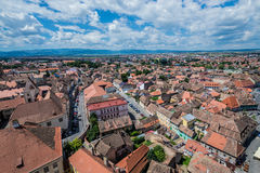 Sibiu in Romania Royalty Free Stock Photos
