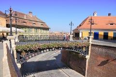 Bridge of Lies, Sibiu Stock Image
