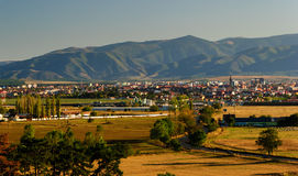 Sibiu romania carpathian berg Royaltyfria Foton