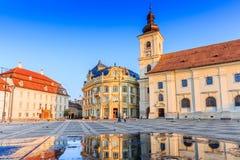 Sibiu, Romania. Stock Photos