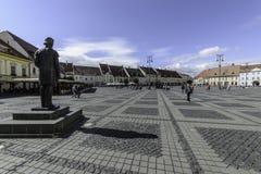 Sibiu, romania, europe, the big square Stock Photos