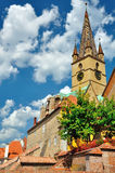 Sibiu, Romania. Great history place for visit and relax Stock Image