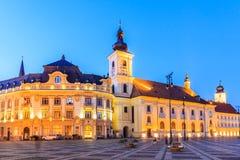 Sibiu, Romania. Royalty Free Stock Photo