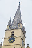 Sibiu, Romania: The Lutheran Cathedral of Saint Mary Royalty Free Stock Photo