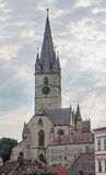 Sibiu, Romania: The Lutheran Cathedral of Saint Mary Royalty Free Stock Image