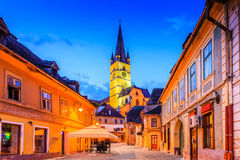 Sibiu, Romania, Stock Photos