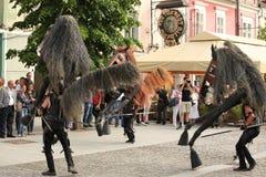 Horses from Menorca Stock Photography