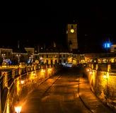 Sibiu, Romania. Photo made by night Stock Photography