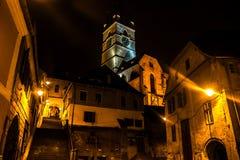 Sibiu, Romania. Photo made by night Stock Images