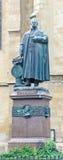 Sibiu, Romania: The Statue of Georg Daniel Teutsch Royalty Free Stock Photography