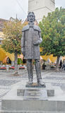 Sibiu, Romania: The statue of Gheorghe Lazar Royalty Free Stock Image