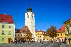 Sibiu, Roumanie Images stock