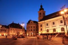 Sibiu Rumänien Fotografering för Bildbyråer