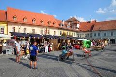 Sibiu Rumänien Royaltyfri Foto