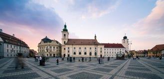 Sibiu Rumänien Royaltyfria Bilder