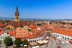 Sibiu, Rumänien Stockfotos