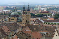 Sibiu in Rumänien Stockbild