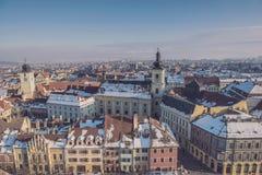 Sibiu Rumunia Obrazy Royalty Free