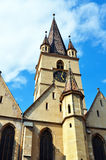 Sibiu sfanta treime church Royalty Free Stock Images