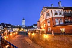 Sibiu, Siebenbürgen, Rumänien Lizenzfreie Stockbilder