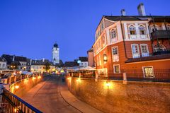 Sibiu, Transylvania, Romania Royalty Free Stock Images