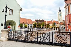 Sibiu Square Royalty Free Stock Images