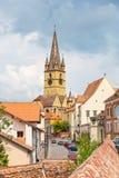 Sibiu stad, Roemenië Royalty-vrije Stock Foto's