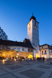 Sibiu Stadscentrum Royalty-vrije Stock Fotografie