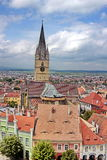 Sibiu town Royalty Free Stock Photos