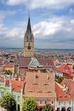 Sibiu town Royalty Free Stock Photos