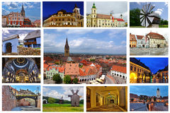 Sibiu Town Royalty Free Stock Photo