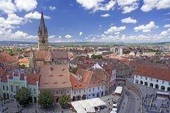 Sibiu a Transilvânia Romania Fotografia de Stock